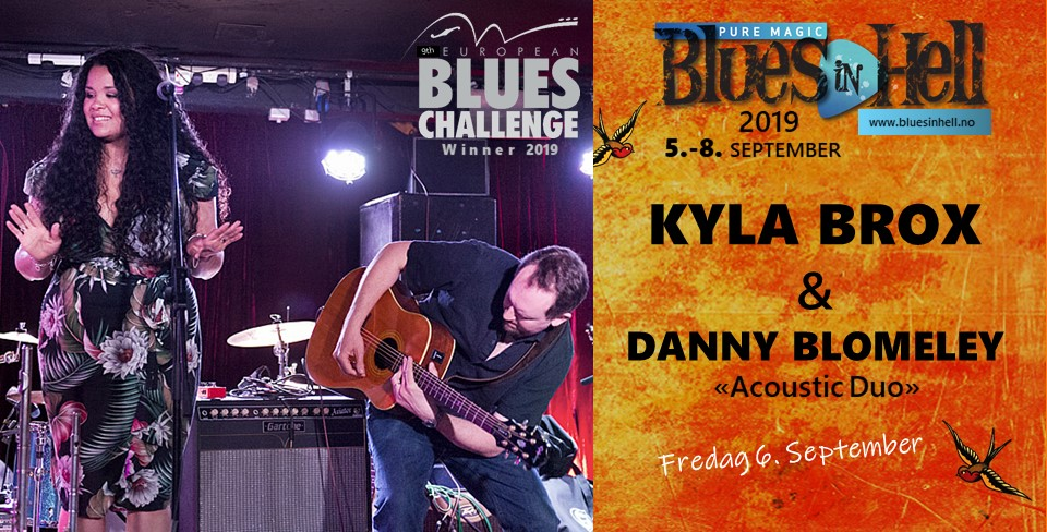 KYLA BROX & DANNY BLOMELEY  Acoustic Duo