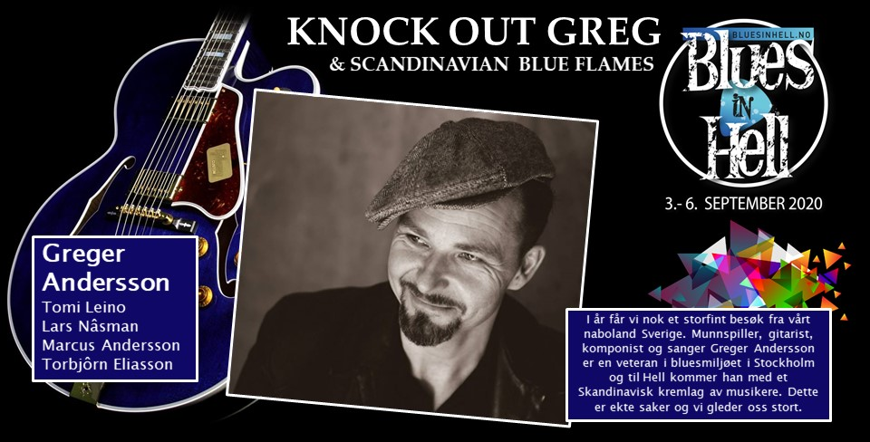 KNOCK OUT GREG & SCANDINAVIAN BLUE FLAMES
