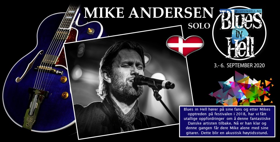 MIKE ANDERSEN solo